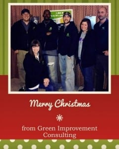Merry Christmas from Green Improvement Consulting