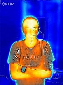 See Your Home Through the Eyes of Flir One Thermal Imaging.