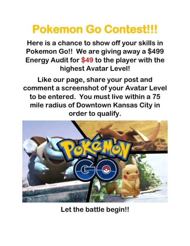 Pokemon Go Contest
