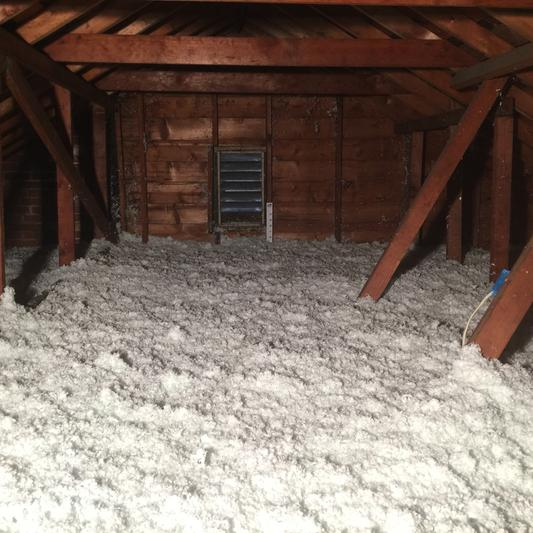Properly Insulated Attic