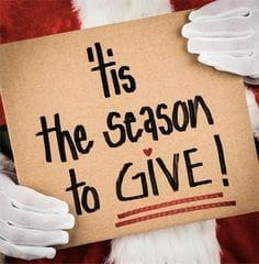 Tis The Season For Giving Back